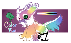 JR Auction - Color Run (closed) by loveburb