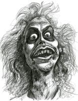 Michael Keaton as Betelgeuse/Beetlejuice by Caricature80