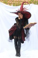 Stock - Witch  with a book .. funny by S-T-A-R-gazer
