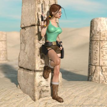 Classic Raider 171 by tombraider4ever