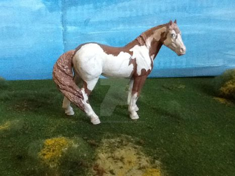 Model Horse Custom Paint Horse by popmaster101