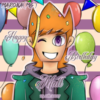 Happy Birthday Matt by wakfu7