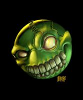 Green Ghoulee by Grimbro