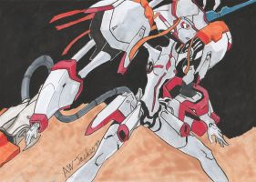 Strelizia - Speed Drawing by Anime-With-Jackson