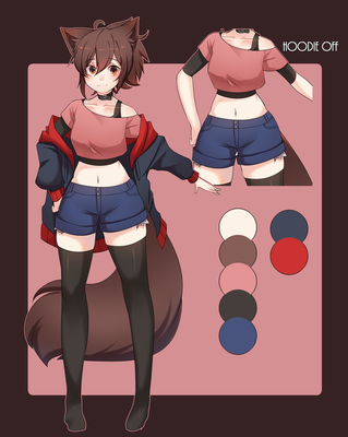 Rayrie persona ref 2k18 by RayRie
