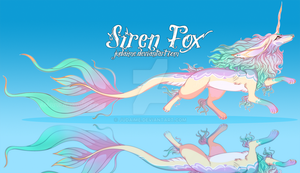 Siren Fox II | Adopt Auction - CLOSED by Judaime