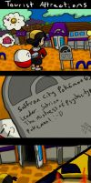 Pokemon: tourist attractions by DunnyCT