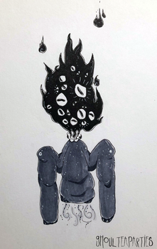 INKTOBER- Day 5 by Ghoulteaparties