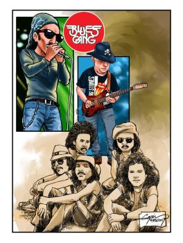 BLUES LEGENDS by GAYOUR