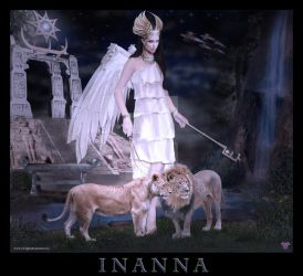 Inanna - Goddess of Goddesses by ShyloLove