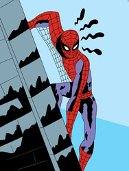 Ditko Spidey by CountBedlam