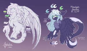 :Ref: Ashelia and Moonlight Serenity by Melly-fox