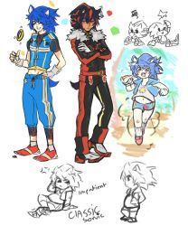 Sonic the hedgehog Human~? by sosokrazy