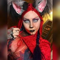 Little red riding hood was tasty by Countess-Grotesque