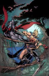 Masters of the Universe #6 Cover. by Axel-Gimenez