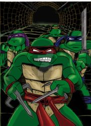 TMNT_color by ADRIAN9