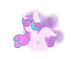 Mlp princess Flurry Heart by ThatSnowPony