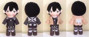 C: Attack on titan Bertolt Hoover plush by Harukuma