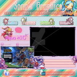 League of legends Overlay Lulu Cute by SonasGraphics