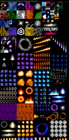 Mega Man X Command Mission Texture Rip (Effects) by IrregularSaturn