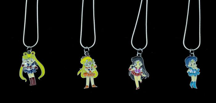 Sailor Scout Necklace!! by BrightStarGifts
