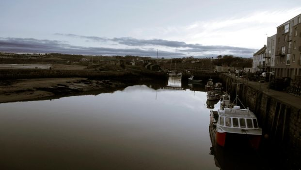 St Andrews Fishing Village Harbour by kellock