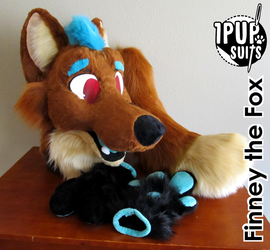Finney Partial by 1PUPsuits