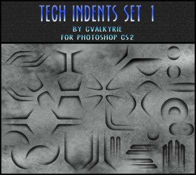 Tech Indents Set 1 - GVL by gvalkyrie