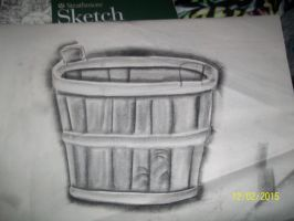 charcoal bucket from art class by 11newells