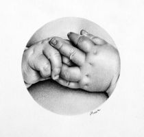 Baby's Hands by IleanaHunter