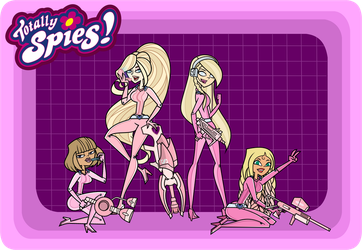 Totally Spies |  Scream Queens |  Chanels by Pennsatucky