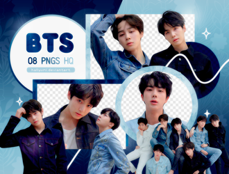 PNG PACK: BTS #52 (Love Yourself 'Tear' R version) by Hallyumi