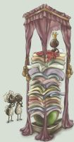 The Princess and the Pea by DreamsOfALostSpirit