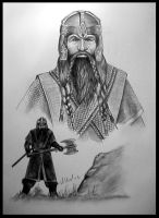 Lord of the Rings Gimli by willow1
