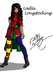 Loella Longstocking by IzzyPixie