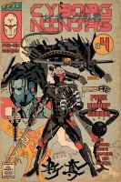 GAMETEE MGS CYBORG NINJA#4 variant by future-parker