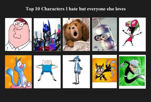 I Hate My Top 10 Players, But Everyone Else Loves by littledoegiuli95