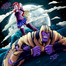 How infinity war part 2 will end. (SPOILERS ALERT) by brother-lionheart