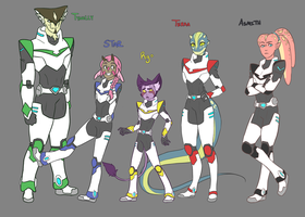 Voltron ocs by Art-Might