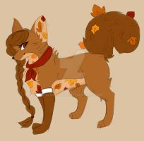 OTA Adoptable Open \\ Fall Character by Blossybear