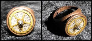 Steampunk Ring by JLHilton