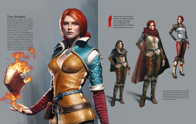 Triss Merigold Concept - Witcher 3 by PlanK-69