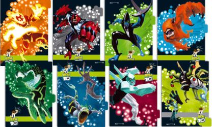 Ben 10 - Ring Binder Dividers by crischinchila