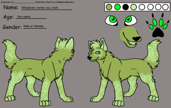 Wolf Adoptable (open) by WolvesVGriffins