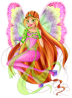 Flora - Dreamix - For SilverWinx by Feeleam