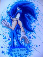 Sonic The Hedgehog by Chant4Ezkaton2000