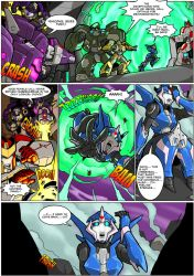 Arcee Comic P1 by Mad-projectNSFW