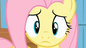 Concerned Fluttershy (animated GIF) by CorpulentBrony