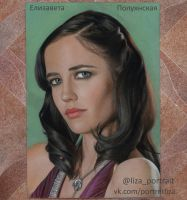 Eva Green by Lizapoly