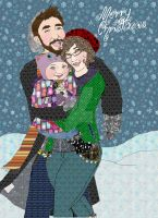 Christmas Card 2014 by TheTrueGypsyQueen